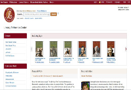 Literary Reference Center Homepage picture