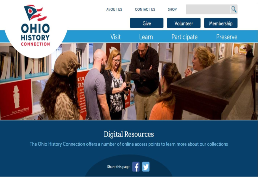 Ohio History Connection homepage picture