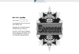 Sanborn Fire Insurance Maps of Ohio homepage picture