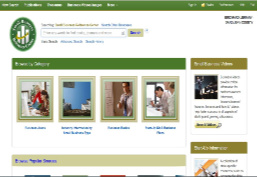 Picture os Small Busincess Reference Center Homepage