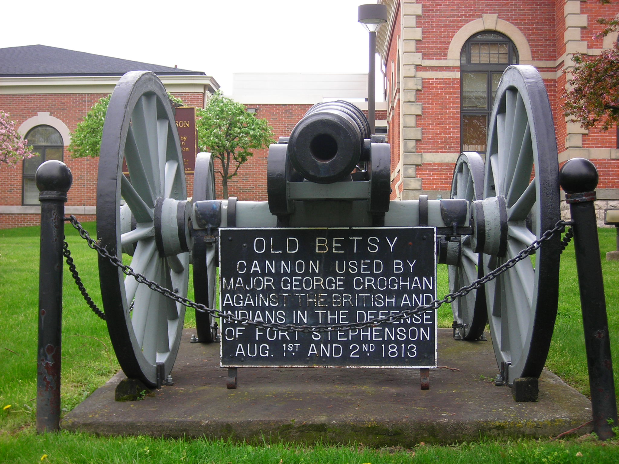 Picture of Cannon used at Fort Stephenson - Old Betsy