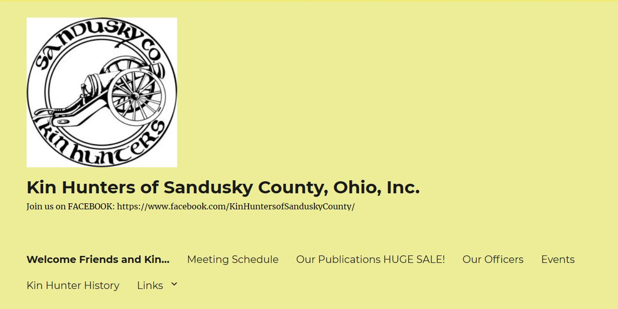 Picture of Sandusky County Kin Hunters Home Page